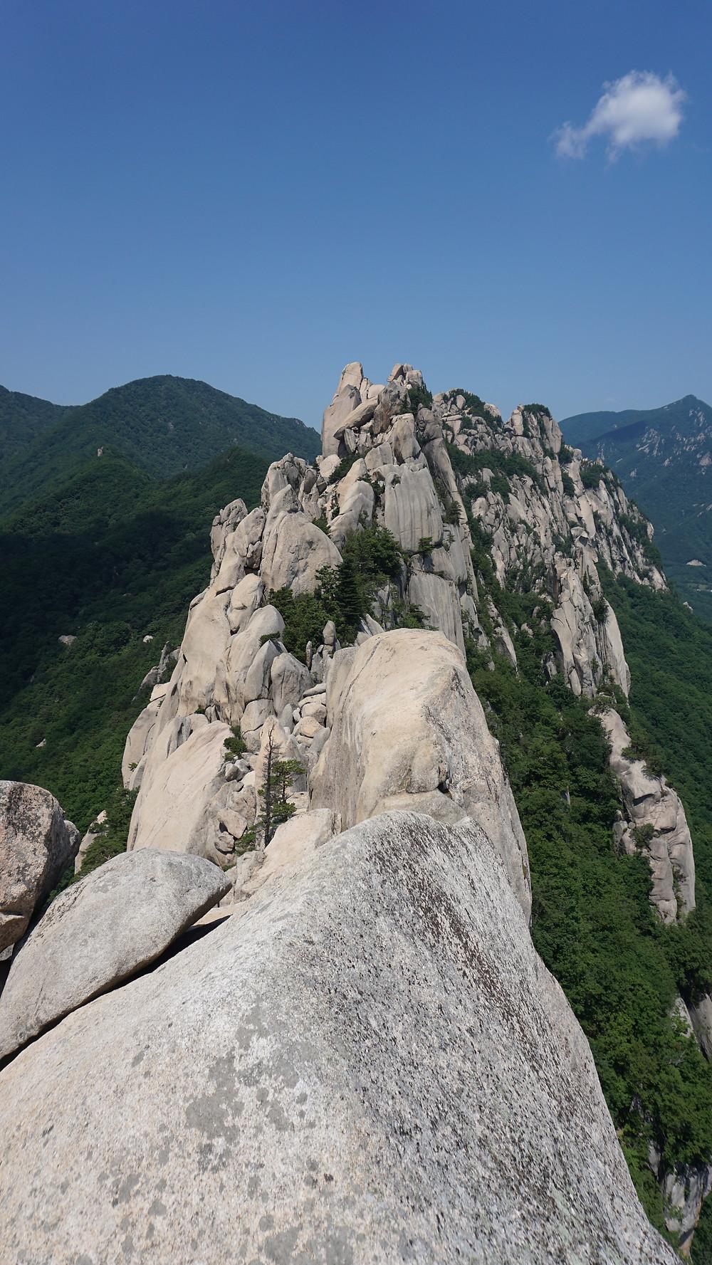 ULSANBAWI ROCK - Parc National Seoraksan - Voyage en Corée du Sud