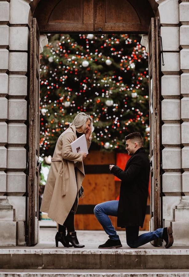 Christmas proposal planning