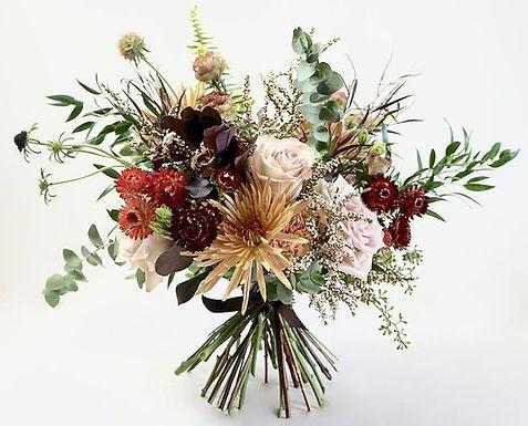 Seasonal vase arrangement