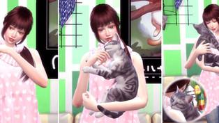 Me & Cat Pose 2