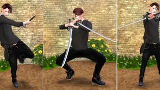 Twin Sword Pose2