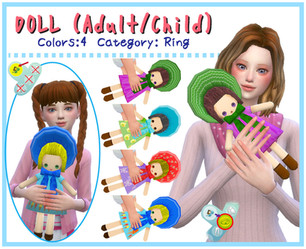 Doll (Adult & Child-ACC/Decor)