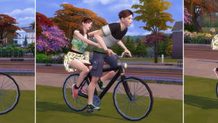 Bicycle Poses (Couple Pose)