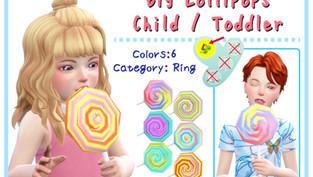 Big Lollipops [Child / Toddler]