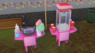Cotton Candy & Popcorn sets
