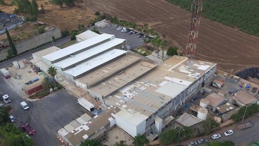 צילום אווירי מרחפן למעקב והתקדמות בנייה