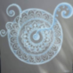 Mandala peinture