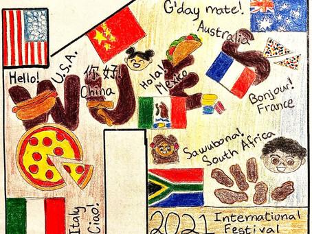 International Festival 2021:  Logo Contest Winner & Event Details