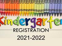 Kindergarten Registration Information for 2021-2022