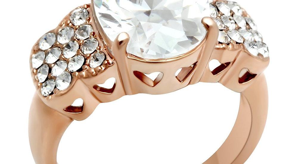 Rose Gold Brass Ring