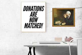 Donations are now matched! 🙌🏾