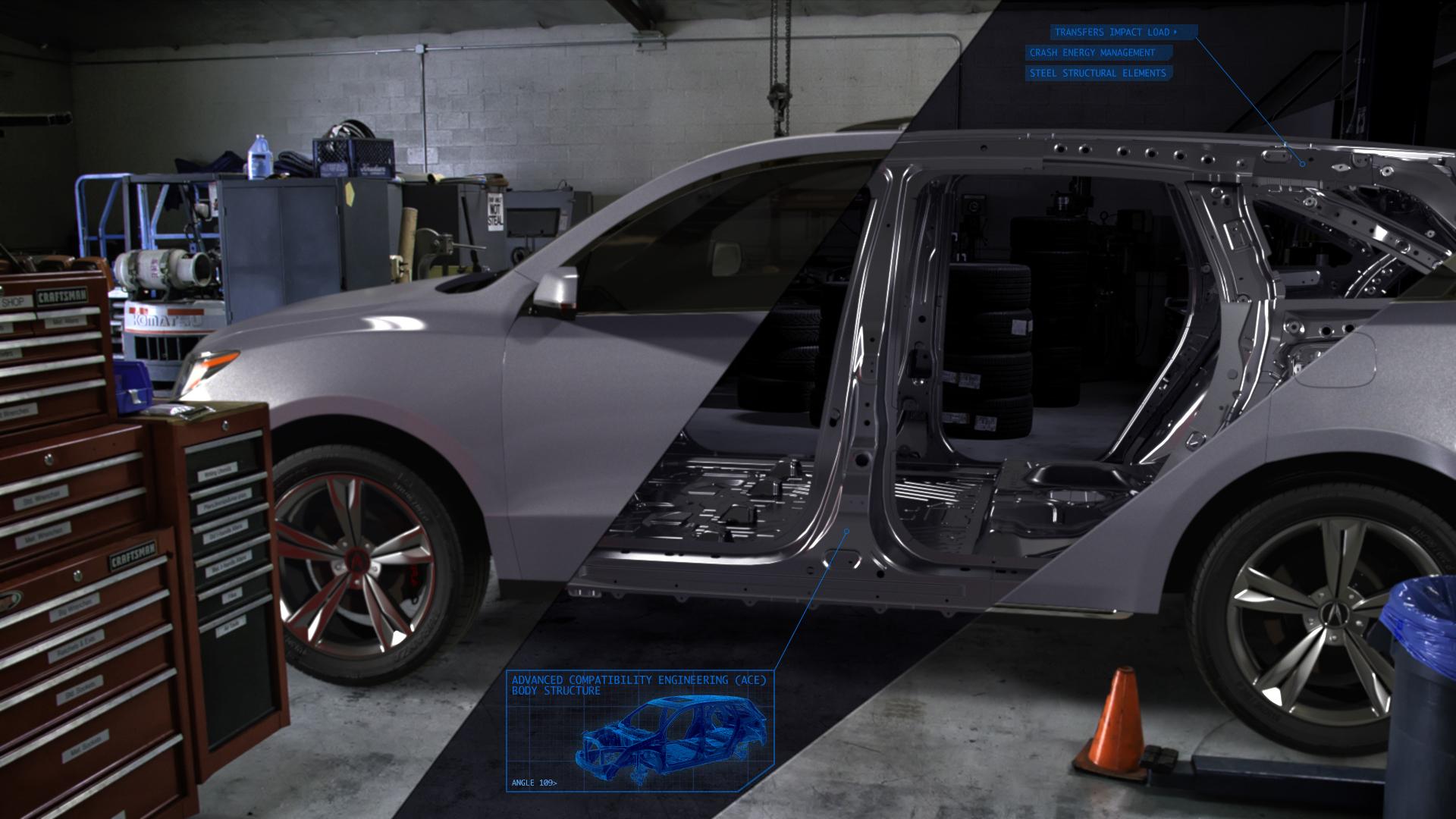Acura MDX Frame