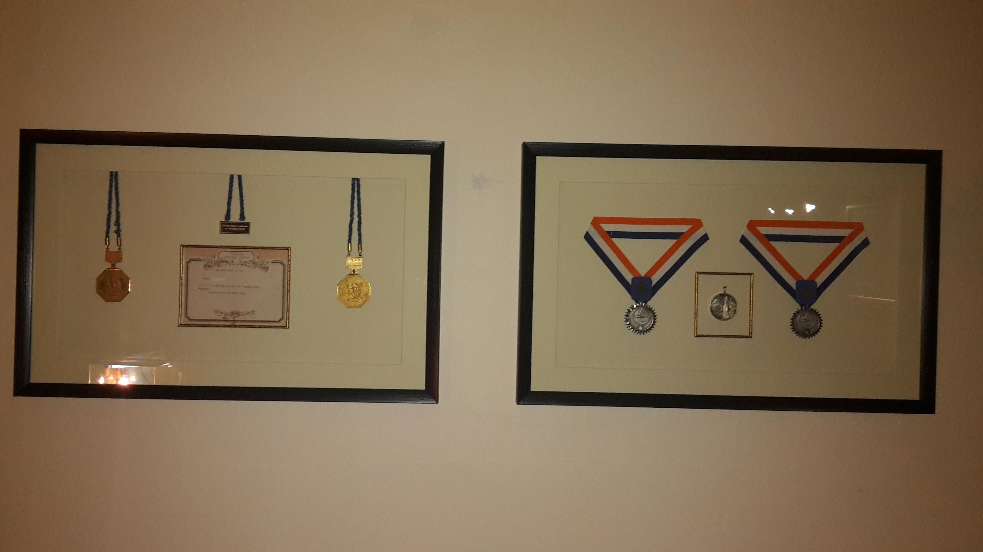 Medal framing 2