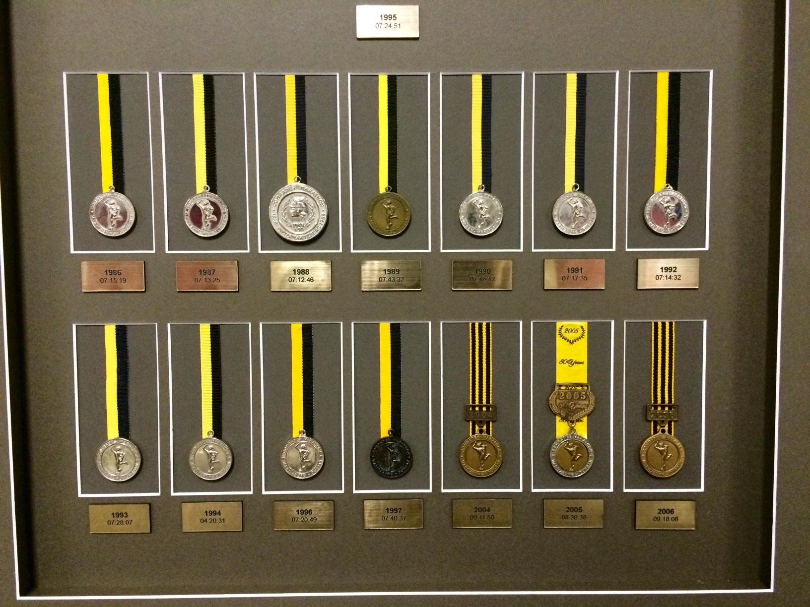 Medals Comrades