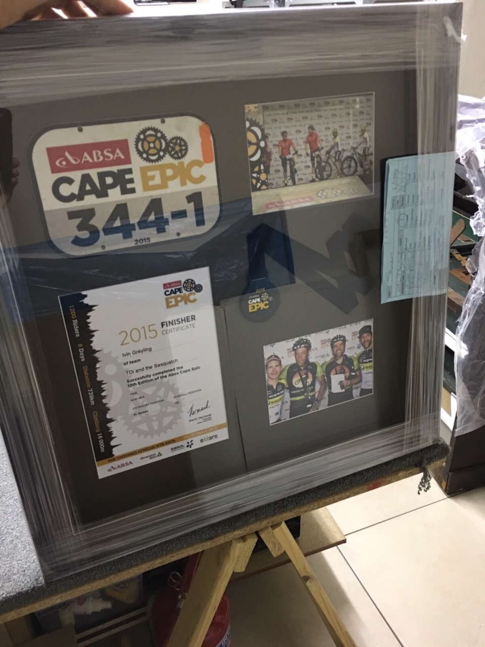 Medals & Photos Cape Epic