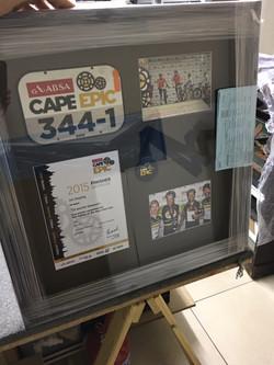 Medals & Photos Cape Epic