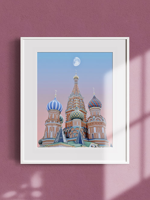 Any Work by Inkjet Print with Frame