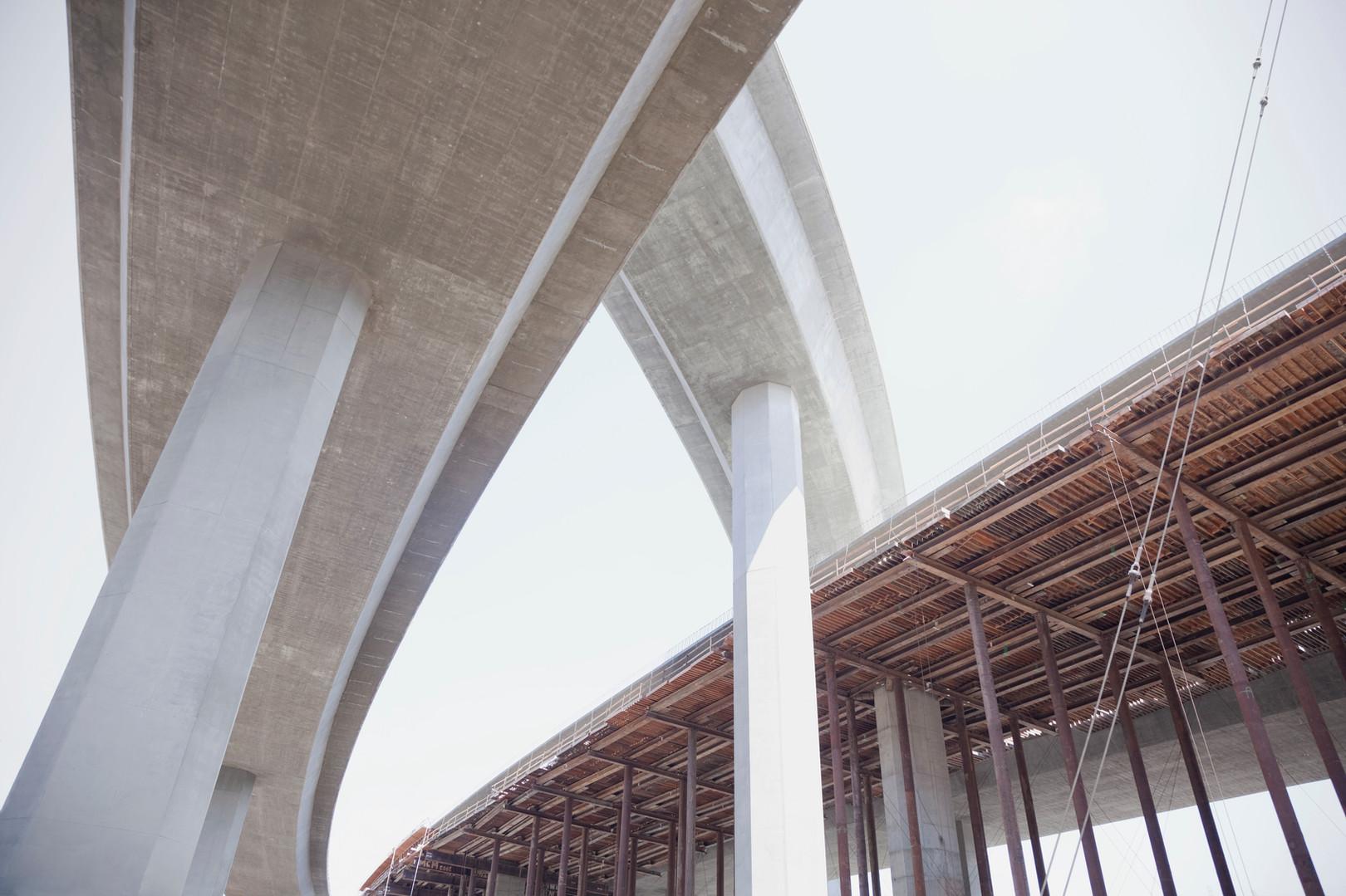 Concrete Bridge Intersection