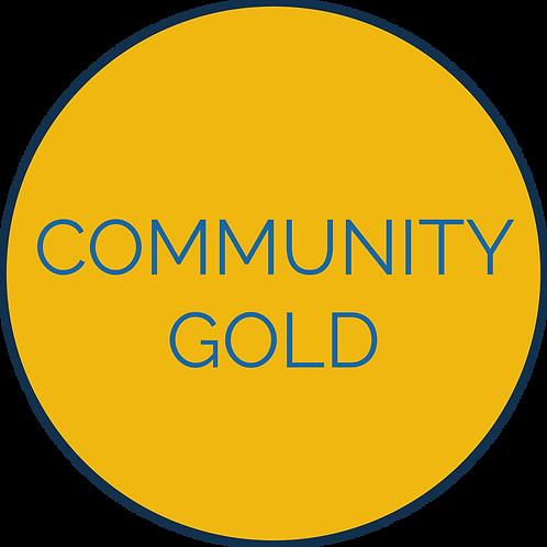 Community Gold Sponsorship