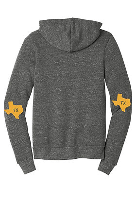 TEXAS ELBOW PATCH HOODIE