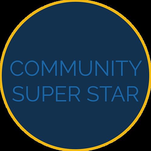 Community Superstar Sponsorship