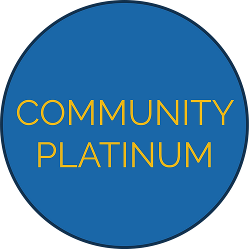 Community Platinum Sponsorship