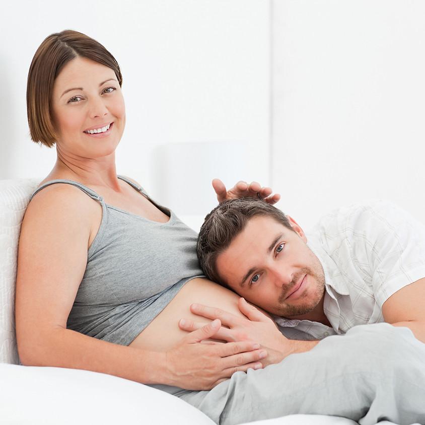 Yoga pre-natal para parejas con Música en vivo