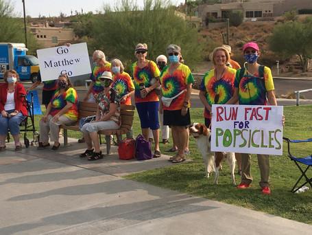 Marathon Run crowd