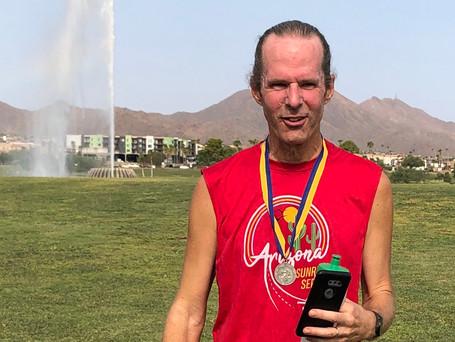 Matthew's virtual Boston Marathon Run May 2020
