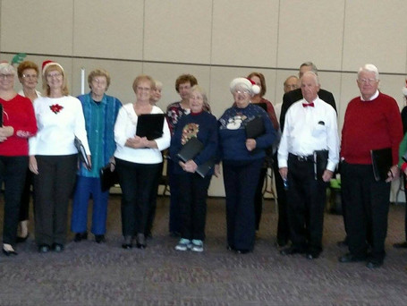 Performing for the Fountain Hills Women's Club