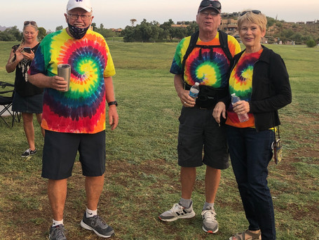 Marathon Run onlookers