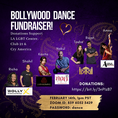 Feb14 Bollywood Fundariser