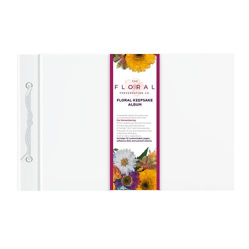 Floral Keepsakes Album