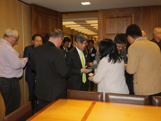 Representatives of the Association of Japanese CEOs Keizai Doyukai 2.5.2016
