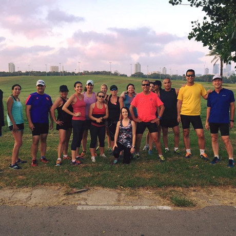 אימון ריצה קבוצתי#