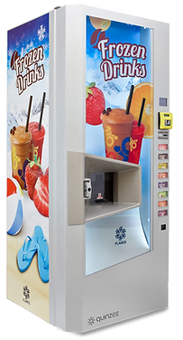 Quinzee by Nicevend - fully automatic vending machine for frozen drinks