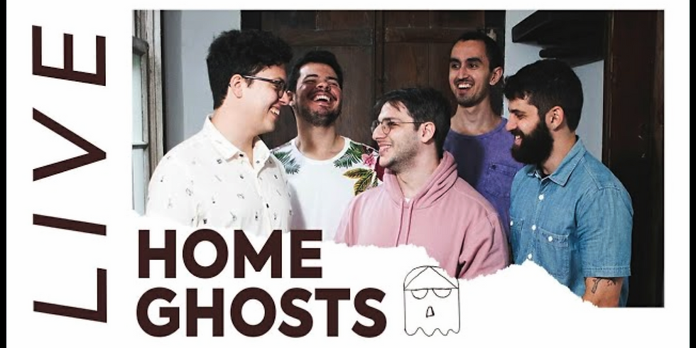 Home Ghosts - Live de Lançamento