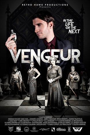 Vengeur Movie Poster | Retrok Hawk Productions | Missouri Independant Film Maker