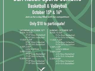 DEA Nation Sports Combine!