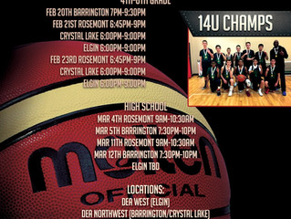 Spring AAU Basketball Tryouts!