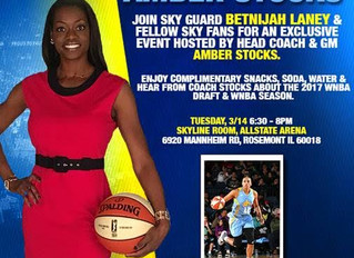 DEA Nation joining forces with the Chicago Sky!