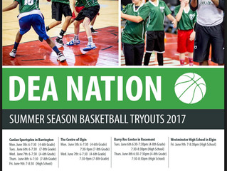 Registration for Summer Tryouts is OPEN!!