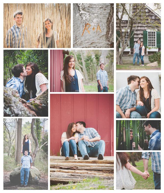 Alyssa + Russ | Engagement - Frank Melville Park, Setauket, NY