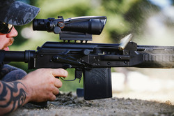 vepr 54r with acog shooting tactical