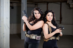 beautiful girls and guns glock