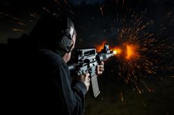 fireball ar15 sbr pistol shooting