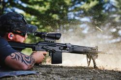 vepr 54r with acog and bipod shootin