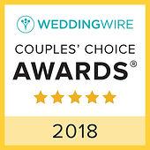 Markland Photogrphy Wedding Wire couples choice award 2018