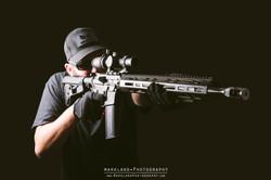 AX Tactical carbon fiber ar15 s3f