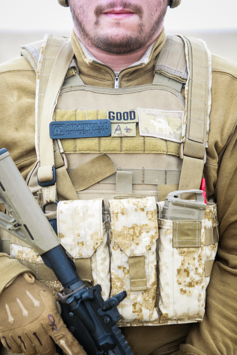 plate carrier armor chest rig FDE ar